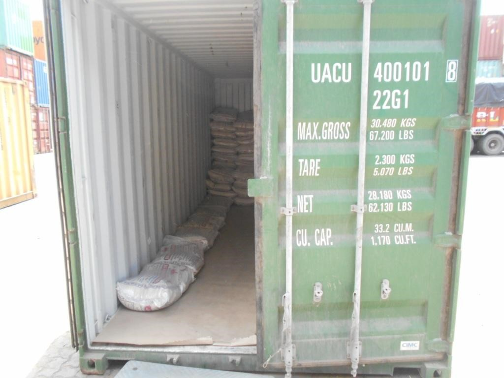 shipment of container